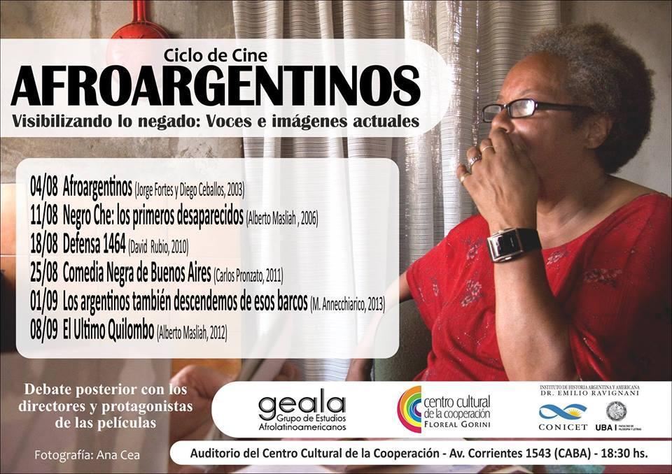 Flyer afroargentinos 2015